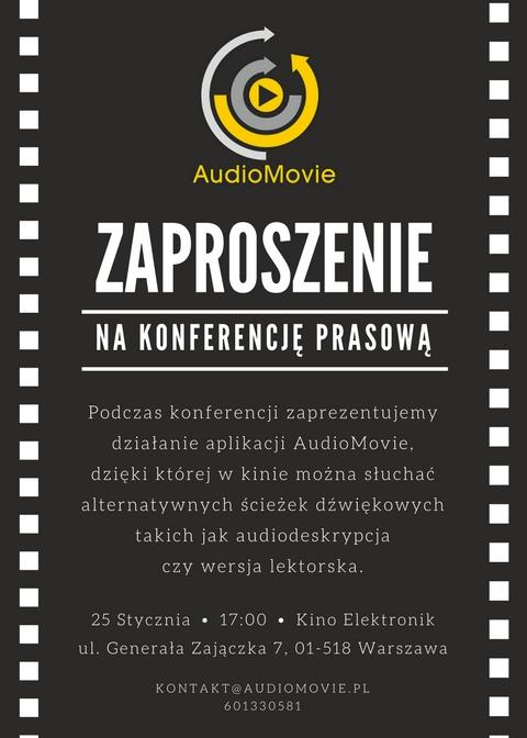 Zaproszenie AudioMovie