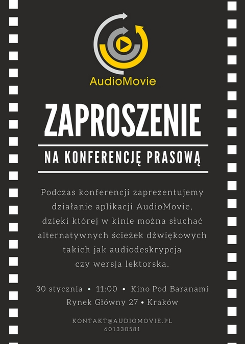 Zaproszenie AudioMovie (1)